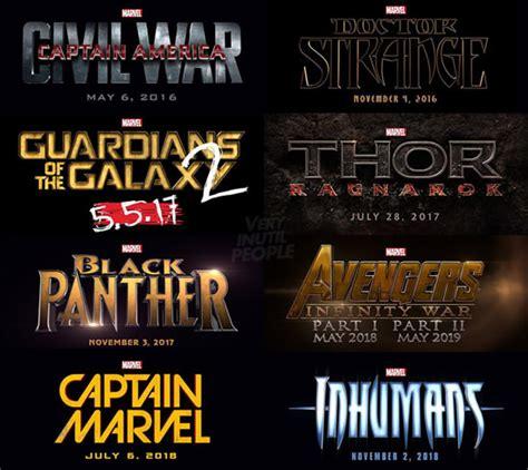 Film Marvel Ordine Uscita | film marvel in uscita 2016