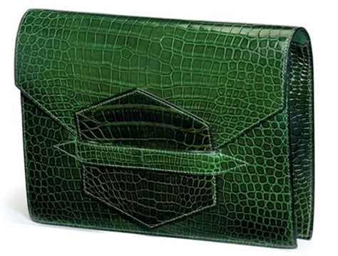 Beckham And Hermes Baccara Crocodile Clutch by Beckham Style Hermes Baccara Clutch Purseblog