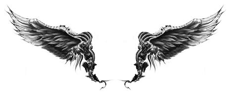 eagle wing tattoo designs guns concept new wings design for