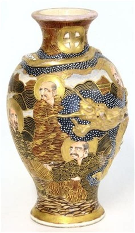 Japanese Vases Values by Satsuma Pottery Japanese Vases 2 Thousand Faces