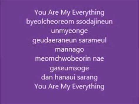download mp3 you are my everything download lyric ost descendants of the sun you are my