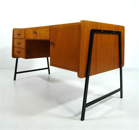 mid century office desk by cees braakman 1950 modern