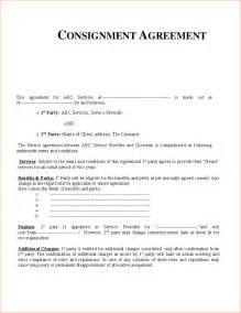 consignment agreement template doc 585722 consignment contract template 5 free word pdf