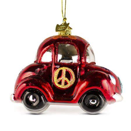 vw bug ornament 4 quot l volkswagen vw beetle car glass ornament walmart