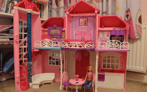 barbie malibu house review boo roo  tigger