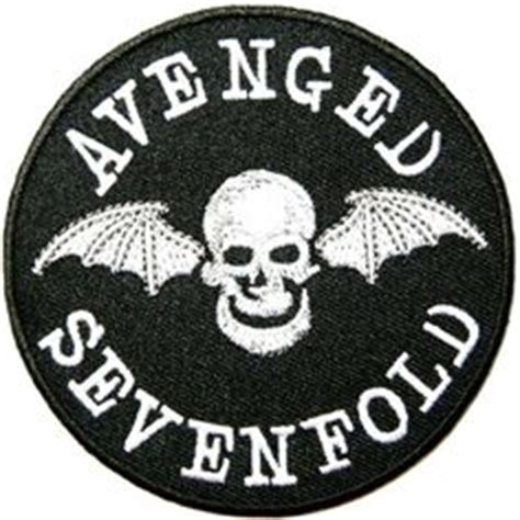 Tshirt Avenged Sevenfold Logo 01 From Ordinal Apparel details about songs heavy metal rock band logo l w t shirts iron on patches heavy