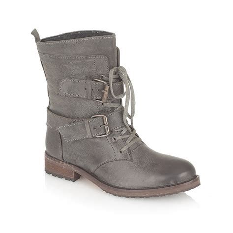 Boots Grey ravel haste ankle boots grey leather ravel from ravel uk
