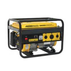 home generators lowes shop chion power equipment 3500 running watts portable
