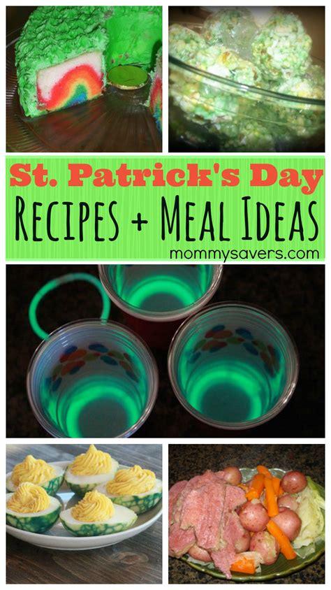 st patricks day recipes  meal ideas