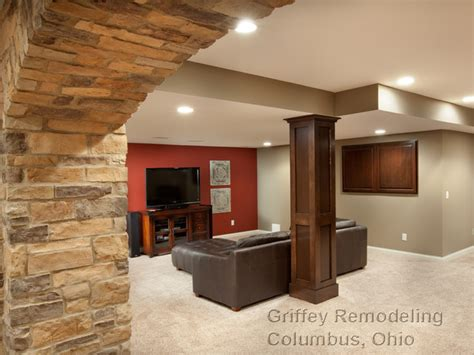 galena ohio basement remodel