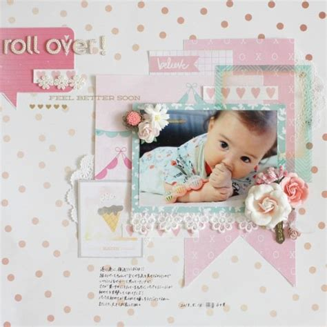 scrapbook layout for baby 573 best baby scrapbooking layouts images on pinterest