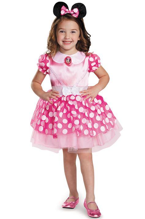 Dress Pink New Item Impor disney pink minnie mouse classic tutu toddler child