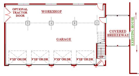 workshop blueprints garage workshop plans pdf woodworking