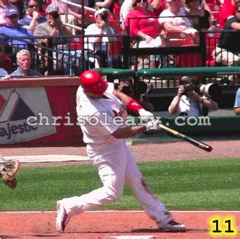 pujols swing ybe 010 video analysis in youth baseball with chris o leary