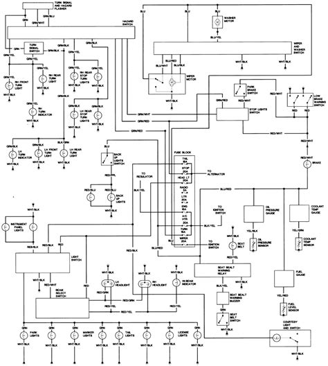 electrical wiring diagram toyota hilux wiring diagram manual