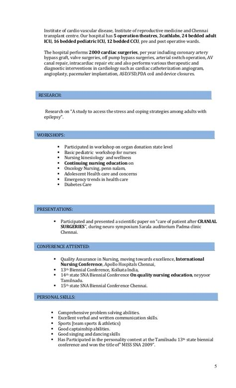 oncology rn resume