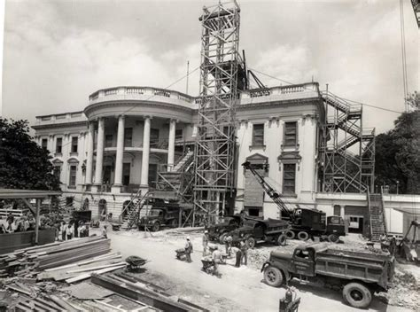 the white house s gleaming new renovations include trump white house south portico 1950 photos white house
