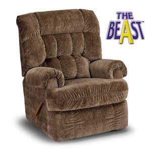 the beast recliner recliners the beast savanta best home furnishings