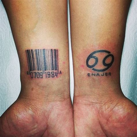 barcode tattoo design barcode tattoos designs creativefan