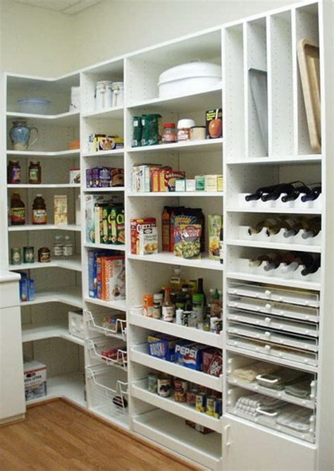 kitchen shelving ideas pinterest 31 kitchen pantry organization ideas storage solutions
