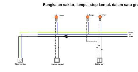 Saklar Infrared instalasi listrik instalasi listrik gambar rangkaian