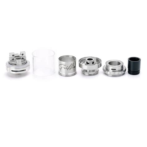 Griffin Mini 25mm Top Airflow Authentic authentic geekvape griffin 25 mini rta top airflow 25mm silver atomizer