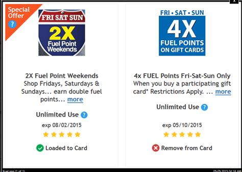 Kroger Gift Cards 4x Fuel Points - kroger gift cards 4x fuel points lamoureph blog
