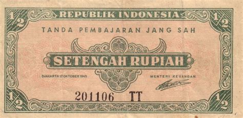 gambar mata uang kertas republik indonesia pecahan  rupiah kang suns blog