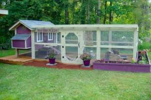 The chicken coop can make it look a lot more homey and presentable