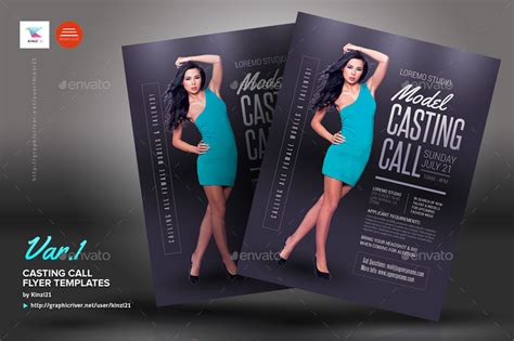 template flyer model casting call flyer templates by kinzi21 graphicriver
