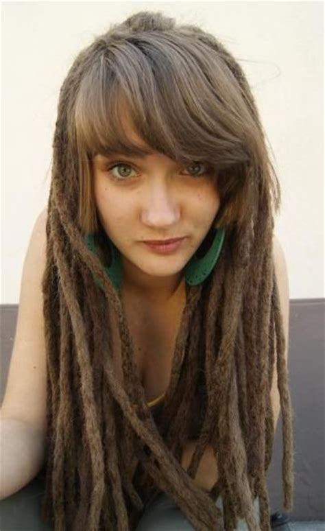 dreadlocks and weave combined together for a bang hairstyle 25 b 228 sta long dreads id 233 erna p 229 pinterest dreadlocks
