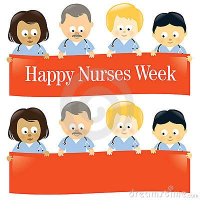 nurses week flyer templates happy nurses week isolated royalty free stock images