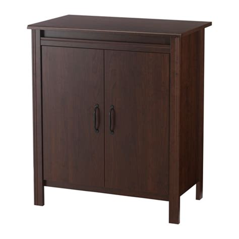 ikea brusali cabinet brusali cabinet with doors brown ikea