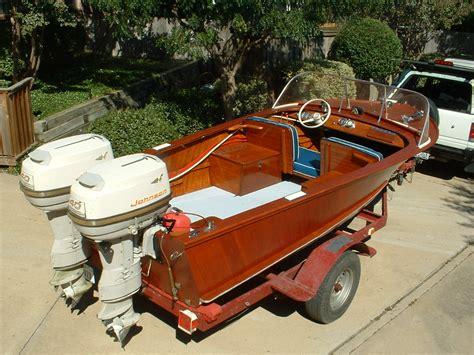 wooden boat engines 1954 helton