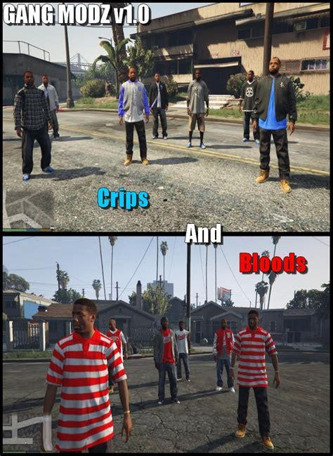 mod gta 5 gang gang modz bloods and crips gta5 mods com