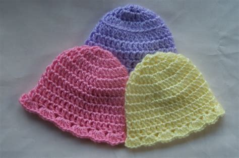 crochet pattern simple hat easy crochet hat pattern baby squareone for