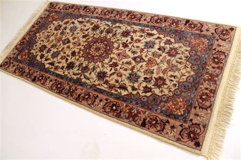 cork rugs beautiful knotted carpet isfahan cork wool rug carpet 70x140 cm tappeto tapis rug