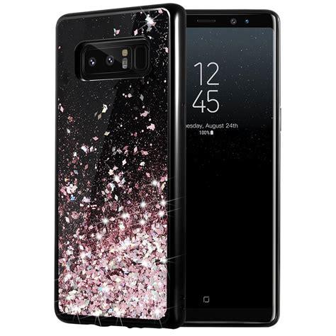 Casing Samsung Galaxy Note 8 Glitter Ring Stand Soft Slim Tpu best samsung galaxy note 8 cases