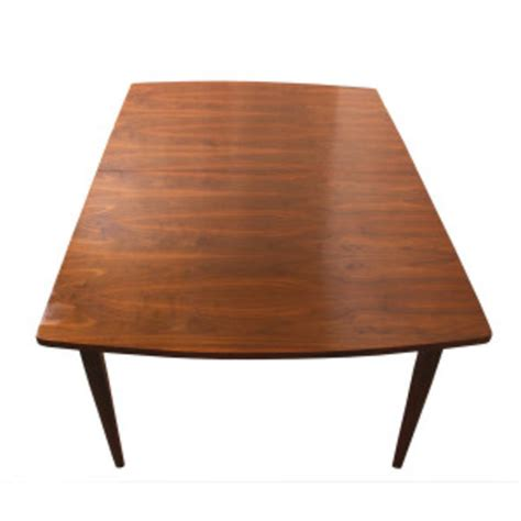 Mcm Dining Table Mcm Walnut Expanding Dining Table By Drexel From Modern Mobler Attic