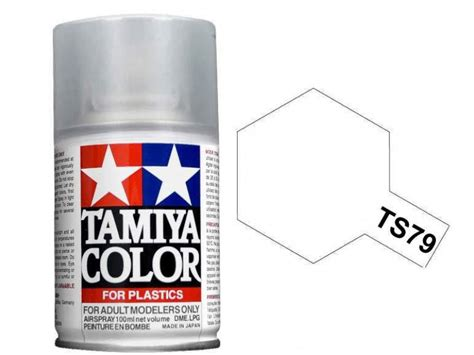 Tamiya Ts 79 Semi Gloss Clear tamiya 100ml ts 79 semi gloss clear 85079 emodels