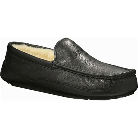 ugg leather slippers for ugg s ascot leather slipper moosejaw