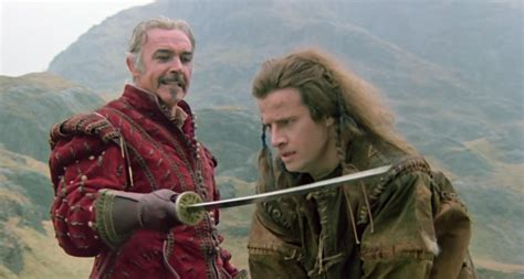 to the highlander the highlander katana is up for auction filmink