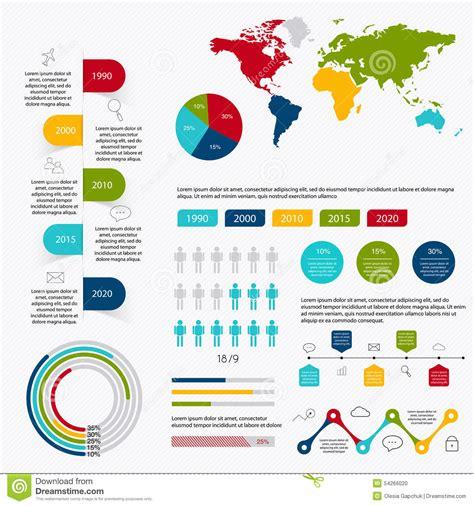 charts diagrams business data market elements dot bar pie charts diagrams