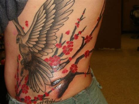 dove tattoo on ribs dove tattoos