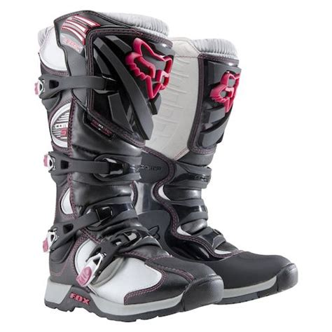 womens motorcycle race boots fox racing women s comp 5 boot revzilla