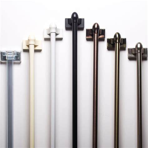 curtain rod types 6 types of curtain rods you should know tolet insider