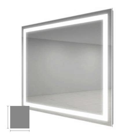 electric mirror bathroom electric mirror integrity 36 quot x 42 quot lighted mirror int3642