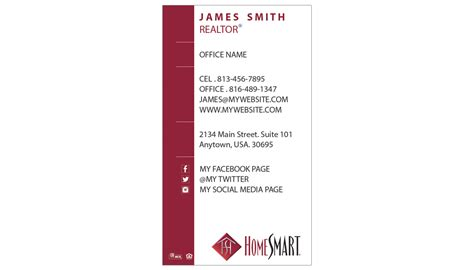 homesmart business cards unique homesmart business cards