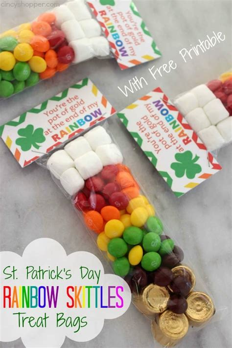 Marsmello Bomber Gold by St S Day Rainbow Skittles Treat Bags Cincyshopper