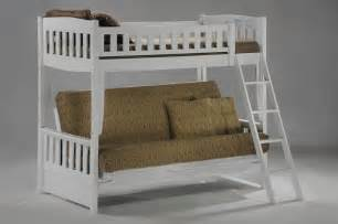 save big on the white pelican futon bunk bed